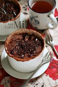 Resepi Kek Milo Microwave 3 Minit Gebu dan Lazat!