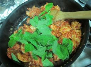 ayam daun pudina masak vietnam ala chef wan sedap mudah