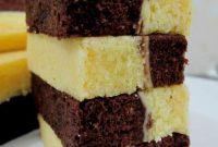 resepi kek lapis coklat cheese kukus