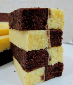 5 Resepi Kek Lapis Coklat Kukus Paling Kegemaran