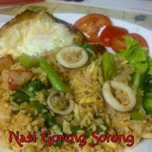resepi masak nasi goreng sotong periuk noxxa mudah simple cepat