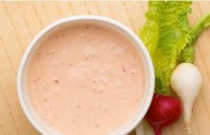 resepi salad buah thousand island sihat untuk diet