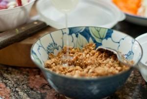 air perasan limau sos kacang gado gado jawa indonesia