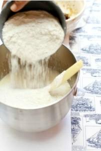cara masak kek pisang kukus moist tepung terigu