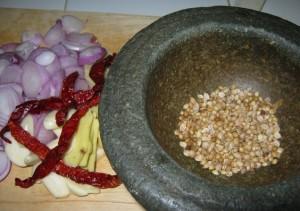 resepi bergambar bahan sup singgang tulang lembu kelantan