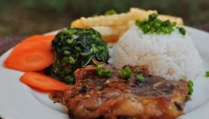 Resepi Chicken Chop Grill Sos Black Pepper Mudah