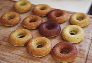 resepi donut green tea lembut ala big apple 01
