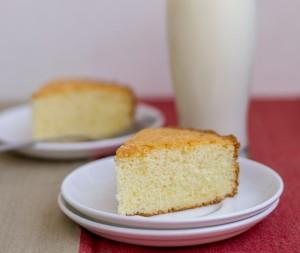 Resepi Kek Span Vanilla Lembut dan Mudah