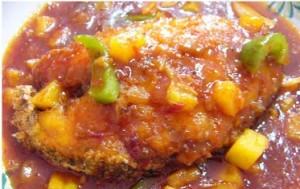 Resepi lauk pauk ikan goreng masam manis untuk makan tengahari
