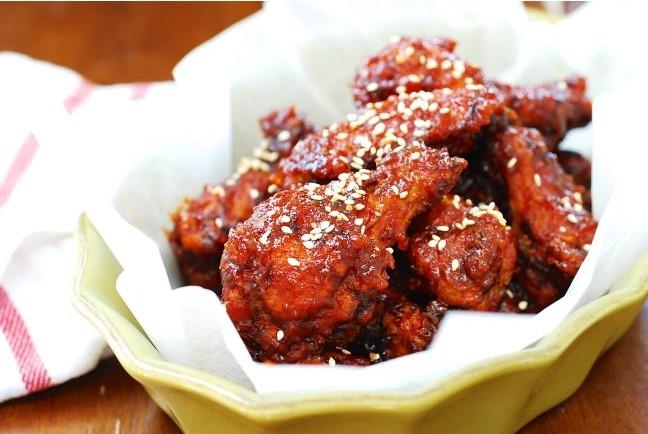 resepi ayam goreng pedas korea yangnyeom mudah step by step 01