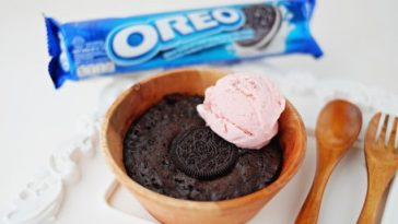 resepi brownies oreo mudah guna microwave 5 minit 6 bahan 10