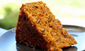 resepi kek carrot bakar sihat mudah sedap sukatan cawan