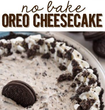 resepi cheese kek oreo tanpa bakar sedap mudah 01