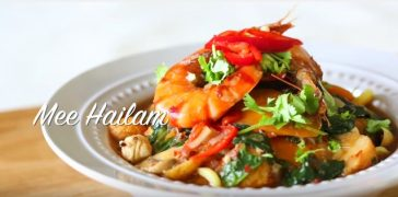 resepi mee hailam simple sedap chef wan