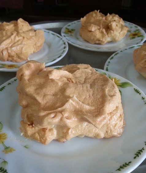 resepi mini pavlova strawberry step by step 06