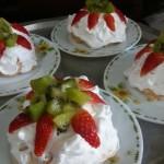resepi mini pavlova strawberry step by step 09