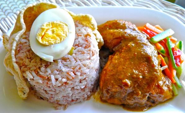 resepi nasi dagang kelantan gulai ikan tongkol mudah ringkas sedap