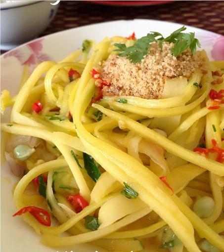 cara membuat resepi kerabu mangga muda simple utara thai chef wan mudah 01
