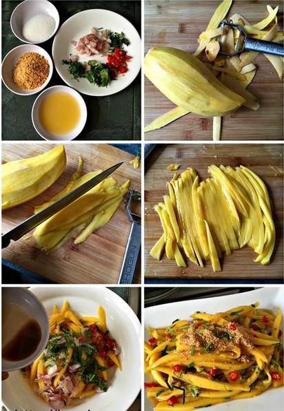 cara membuat resepi kerabu mangga muda simple utara thai chef wan mudah 03