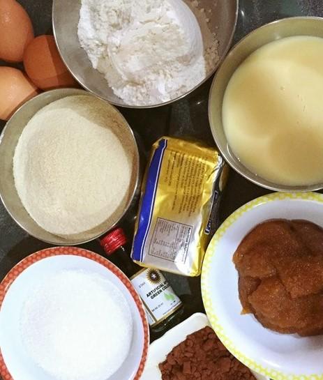 bahan bahan resepi kek lumut coklat serawak sedap mudah