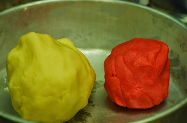 cara masak biskut semperit butter dua warna