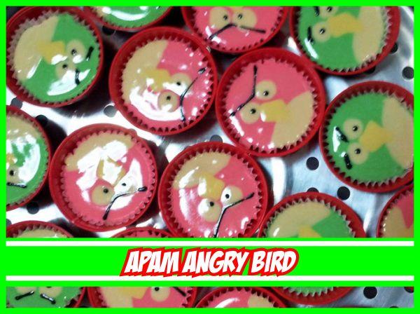 resepi apam polkadot versi angry bird step by step