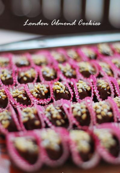 resepi biskut almond london sedap mudah ringkas step by step
