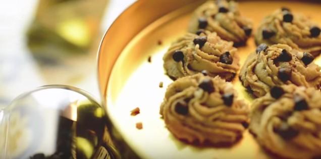 resepi biskut semperit badam kopi cappucino mudah 15