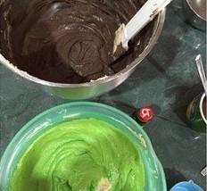 resepi kek lumut coklat sarawak mudah sedap 09