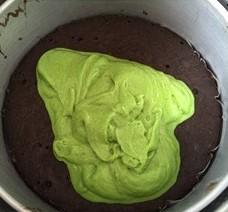 resepi kek lumut coklat sarawak mudah sedap 11