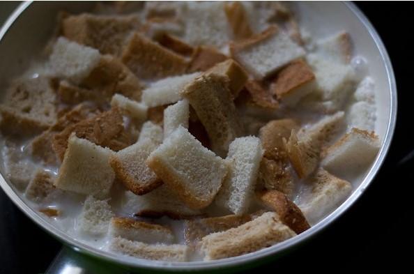 resepi puding roti kukus karamel simple tanpa telur 06