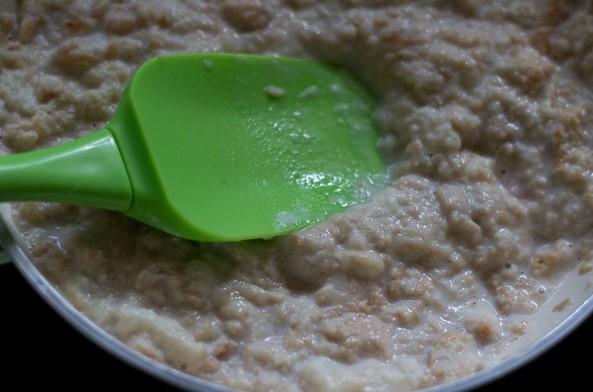 resepi puding roti kukus karamel simple tanpa telur 07