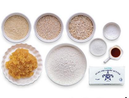 bahan bahan tart nenas oatmeal sihat sedap mudah
