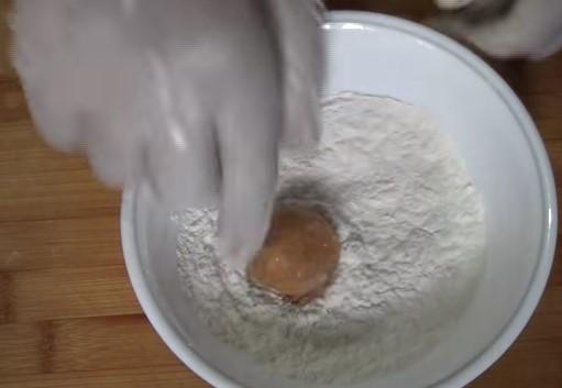 resepi bebola ayam cheese homemade goreng mudah sedap 06