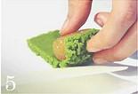 resepi tart nenas matcha green tea sedap mudah 05