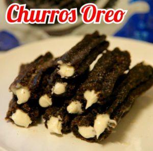 resepi cara buat churros oreo mudah step by step 00