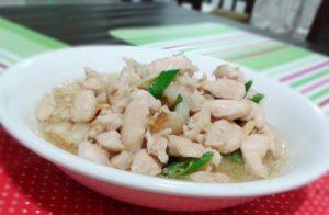 resepi ayam masak halia berkuah chinese style simple