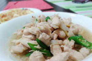 resepi ayam masak halia berkuah chinese style simple chef hanieliza