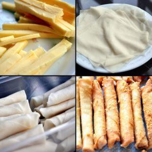 resepi cara membuat popia cheese paling mudah