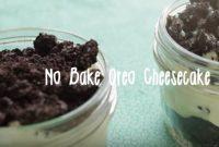 resepi oreo cheesecake tanpa bakar