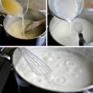 resepi lasagna ayam cheese langkah demi langkah 06