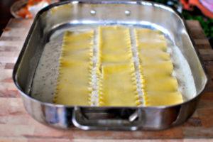 resepi lasagna ayam cheese langkah demi langkah 09