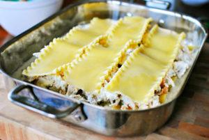 resepi lasagna ayam cheese langkah demi langkah 11