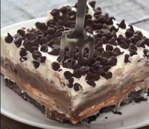 resepi lasagna coklat oreo langkah simple senang lazat