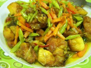 Resepi ayam masak kunyit kedayan brunei
