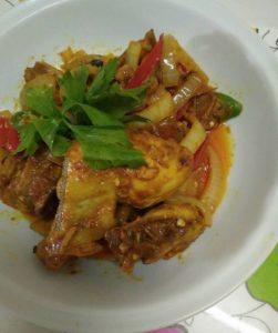 resepi ayam masak kunyit halia mudah sedap step by step 00