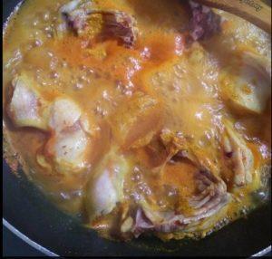 resepi ayam masak kunyit halia mudah sedap step by step 03