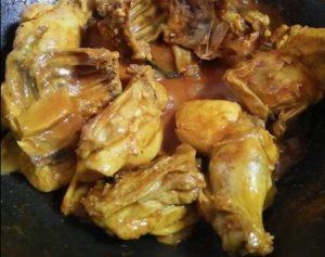 resepi ayam masak kunyit halia mudah sedap step by step 04