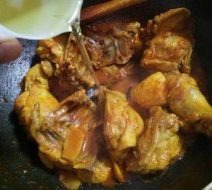 resepi ayam masak kunyit halia mudah sedap step by step 06