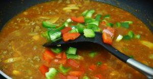 resepi cara membuat spaghetti sos bolognese prego step by step 03